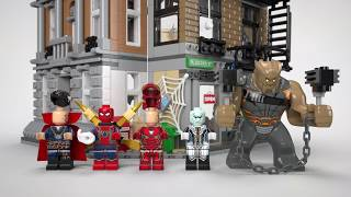 Sanctum Sanctorum Showdown - LEGO Marvel Super Heroes - 76108 Product Animation