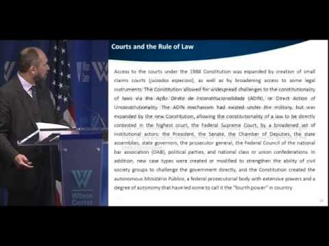 The Rule of Law in Brazil: Three Decades of Progress and Challenges pt1