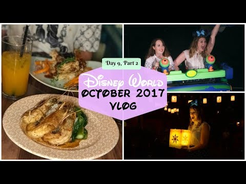 Disney World Fall 2017 - Day Nine, Part Two - Galactic Hero & Skippers Canteen | Charlotte Ruff
