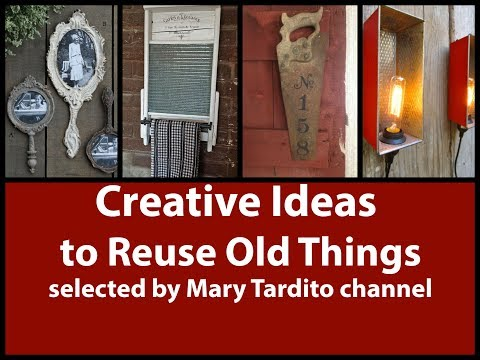 Creative Ideas to Reuse Old Things Turned into New Things – Recycled Crafts Ideas