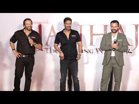 Tanaji-The Unsung Warrior Official Trailer Launch - Ajay D.,Saif Ali K,Kajol,Rohit Shetty