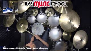 Gabriella Cilmi - Sweet about me - DRUM COVER