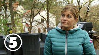 Arga snickaren skäller ut Pernilla Wahlgren