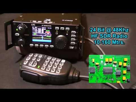 Xiegu G90 24bit HF Radio Transceiver at Radioddity SDR QRP Auto Antenna  Tuner 20W Remote Head