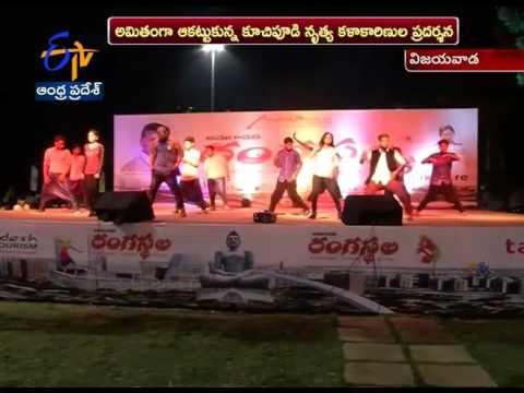 Happy Sunday Celebrated Punnami Ghat in Vijayawada