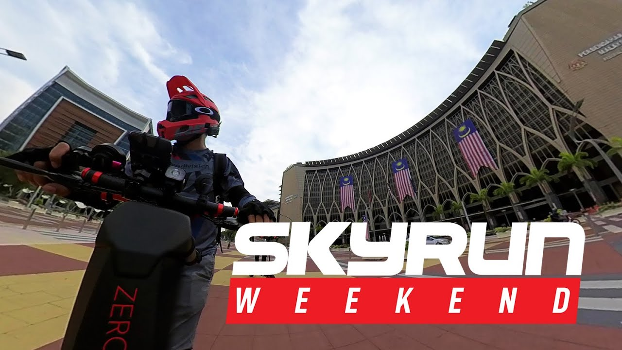 SKYRUN WEEKEND - PUTRAJAYA , A MODERN CITY IN NATURE!