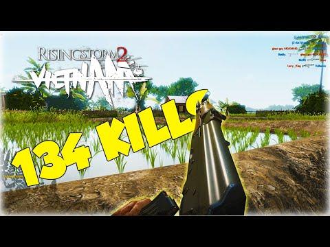 134 Kills ON CUCHI! | Rising Storm 2: Vietnam Gameplay |