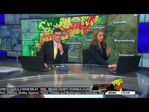 Jude Redfield & The WDRB In The Morning News Team 2017 AP