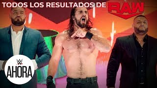 REVIVE Raw en 6 (MINUTOS): WWE Ahora, Dec 23, 2019