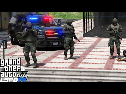 GTA 5 LSPDFR Police Mod 416 | FBI Swat Patrol |Noose Missions| Taking Out Targets & Saving Hostages