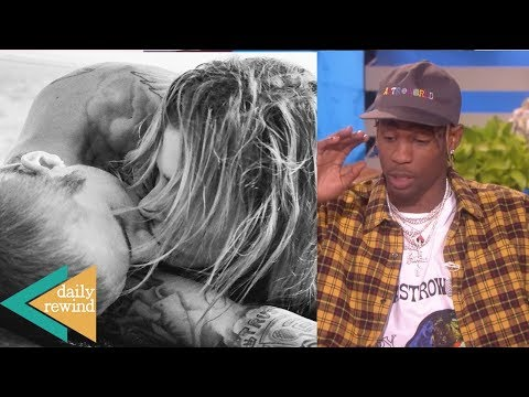 Hailey Baldwin SHADES Selena With Justin PDA Pics! Travis REVEALS Kylie's Secrets On Ellen! | DR