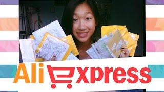 ❤HUGE Aliexpress Unboxing Haul!!!❤