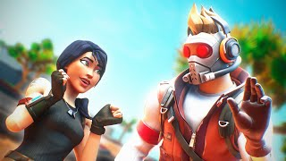 Meeting my BIGGEST FAN in Random Duos! (Fortnite Battle Royale)