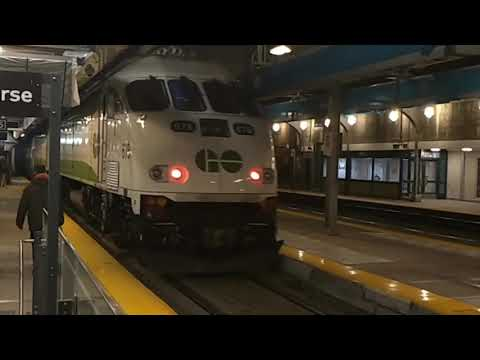 Train ride from Kitchener to Montreal, 27th of November