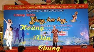 """Gửi em chiếc nón bài thơ   Hoàng Văn Chung   Chung khảo """"Giọng hát hay Quận Long Biên 2018"""""""