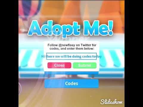 roblox adopt me codes 2019 may