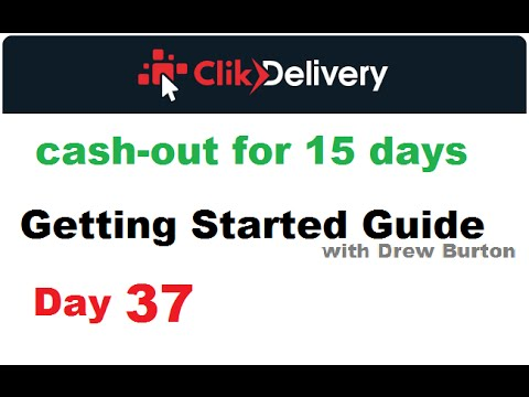 ClikDelivery review Day 37 2016 Click Delivery calculator with Drew Burton