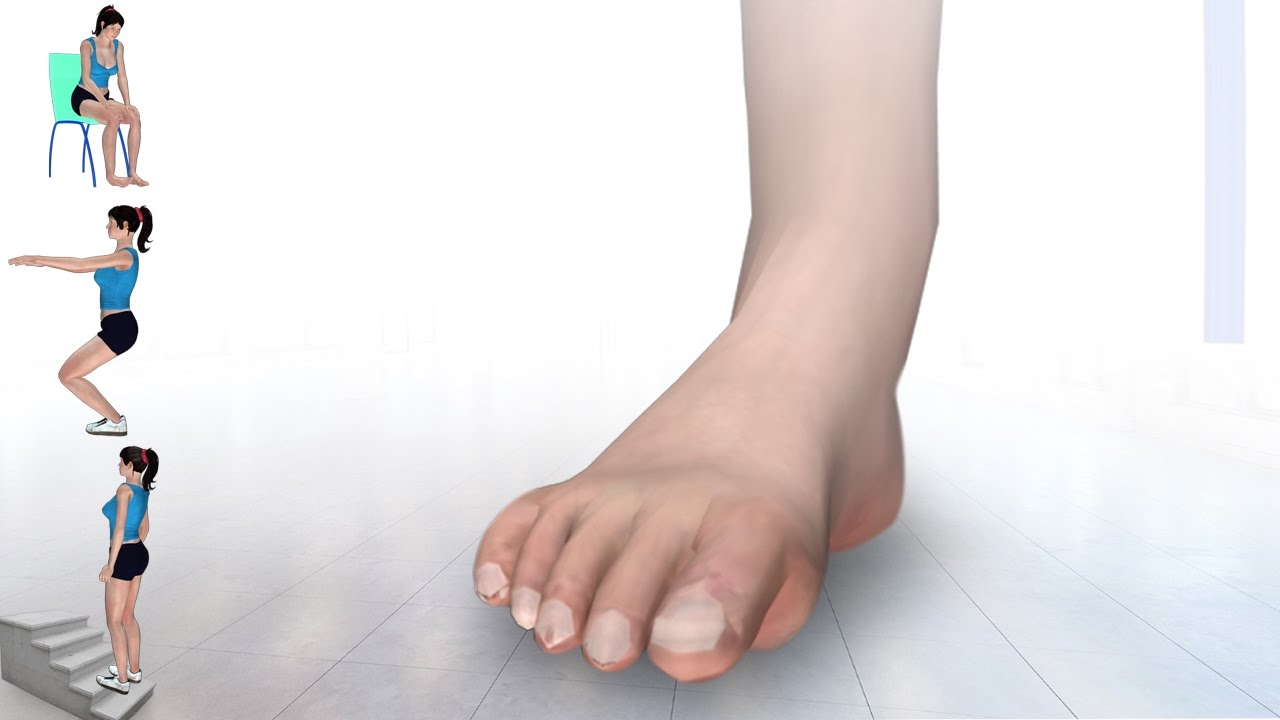 6 exercises for high ankle sprain youtube