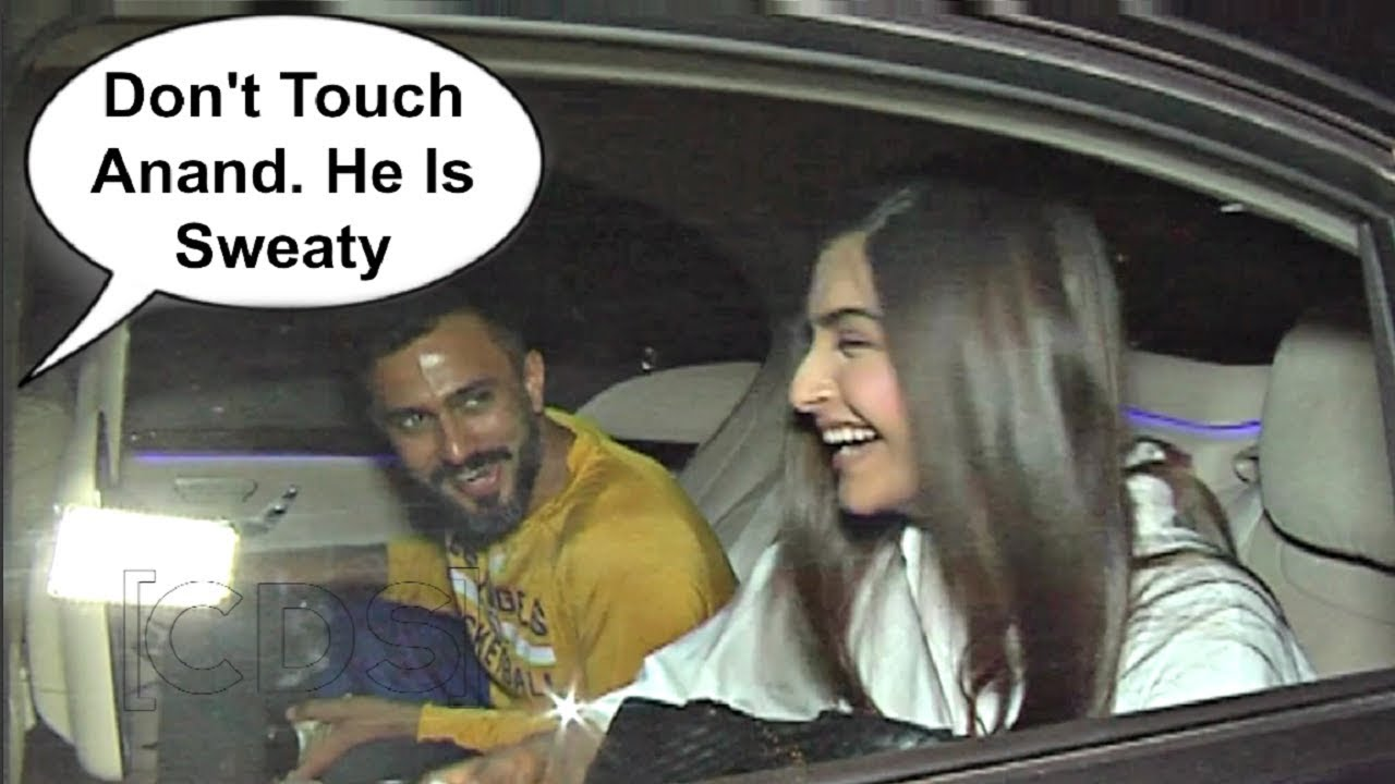 Sonam Kapoor Blushes On Funny Comment On Anand Ahuja