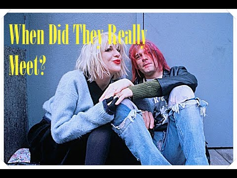 The Real Date Kurt Cobain Met Courtney Love