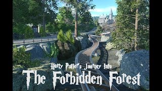 Harry Potter's Forbidden Forest Coaster 2019 - Rumors and Animated Concept - Universal Studios