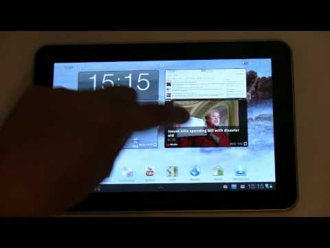 Samsung Galaxy Tab 8.9 Unboxing und Kurztest