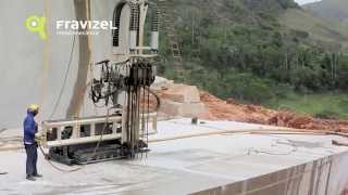 RC Fravizel Tracked Drilling Machine