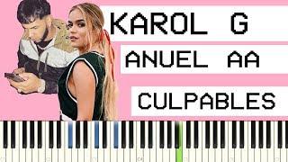 Karol G Ft. Anuel Aa Culpables Piano Tutorial.mp3
