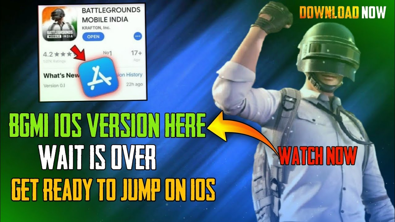 😍Battlegrounds mobile India iOS Launch today ! bgmi iOS Launch date ! BGIS For ios !BGMI iOS Update