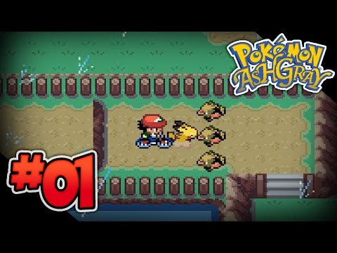 Pokémon Ash Gray - Episode 1: I Choose You!