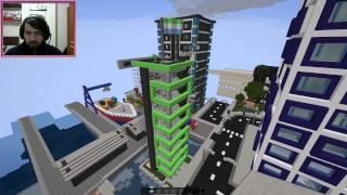 Minecraft Güzel Bir Şehir Haritası