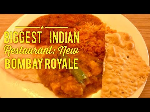 Biggest Indian Restaurant in Manila Philippines: New Bombay Royale Curry Buffet Venice Grand Canal
