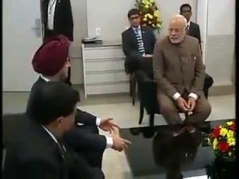 PM Modi meets the Indian members of BRICS Business Council