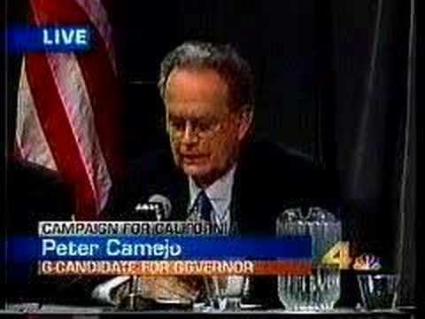 Peter Camejo 2003 California Recall Gubernatorial Debate #5