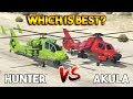 GTA 5 ONLINE : AKULA VS FH-1 HUNTER (WHICH IS BEST?) [UPDATED]
