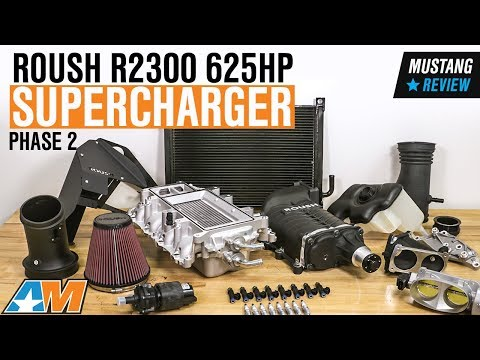 2011-2014 Mustang GT Roush R2300 625HP Supercharger - Phase 2 Kit Review