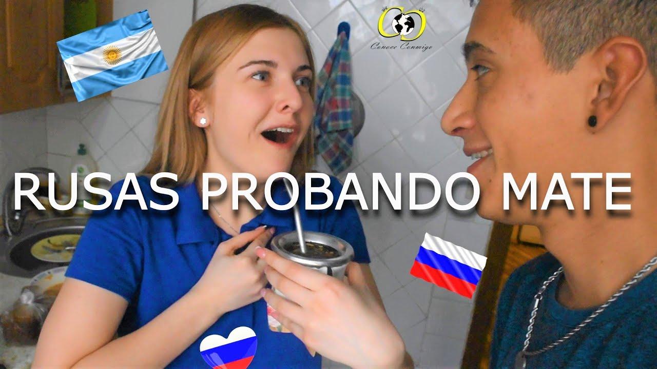 RUSOS PROBANDO MATE ARGENTINO | RUSIA #8