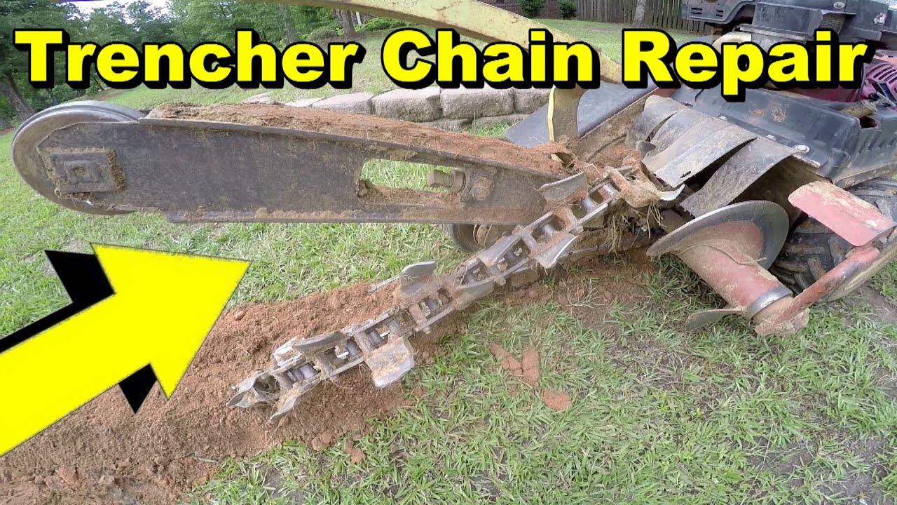 Re Set Trencher Chain, Ditch Witch Help Rt Ditch Witch Wiring Diagram on