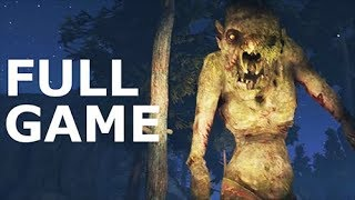Through The Woods - Full Game Walkthrough Gameplay & Ending (No Commentary Longplay) (Horror Game)