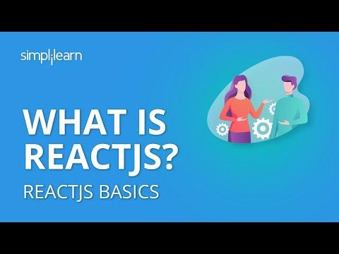 ReactJS Basics | What Is ReactJS? | Learn ReactJS | ReactJS Tutorial For Beginners | Simplilearn thumbnail