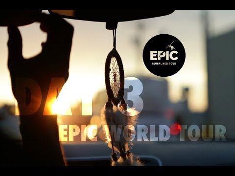 FROM DESSERT TO BEACHES | EPIC world tour DAY 3