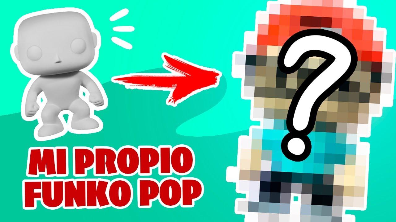 COMO HICE MI PROPIO FUNKO POP - Trada Art