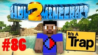 minecraft smp how to minecraft s2 86 epic pitfall prank with vikkstar