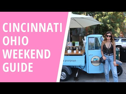 CINCINNATI CITY GUIDE | Vlog 3 | Keep Calm and Chiffon