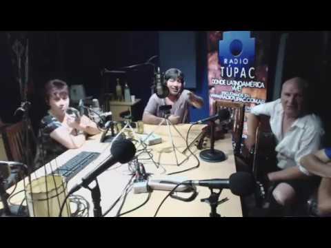 HIJOS DE SANTIAGO X RADIO TÚPAC 28-12-17