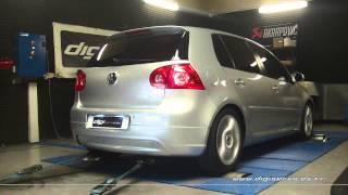 Reprogrammation Moteur VW Golf 5 tdi 136cv @ 175cv Digiservices Paris 77183 Dyno