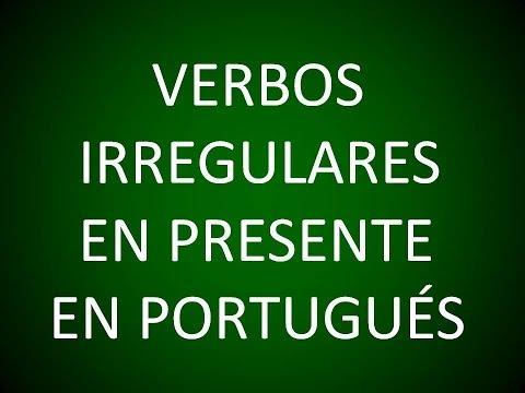 Portugués - Verbos Irregulares en el Presente (Lección 6)