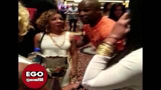 Floyd Mayweather Jr vs. TI Rapper