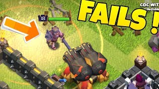 Shrink Trap Fail Attacks In Titan Leauge !! Clash of clans