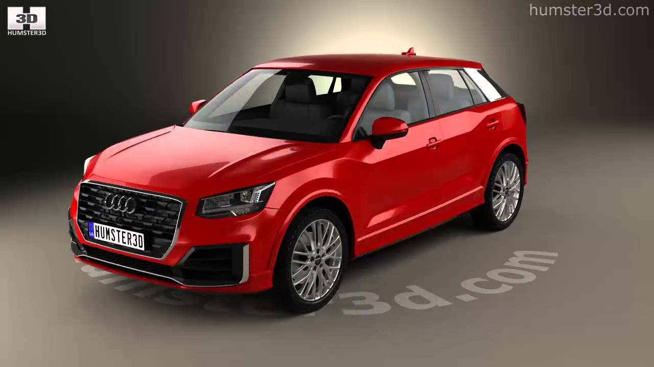 audi q2 s line 2017 3d model by youtube. Black Bedroom Furniture Sets. Home Design Ideas